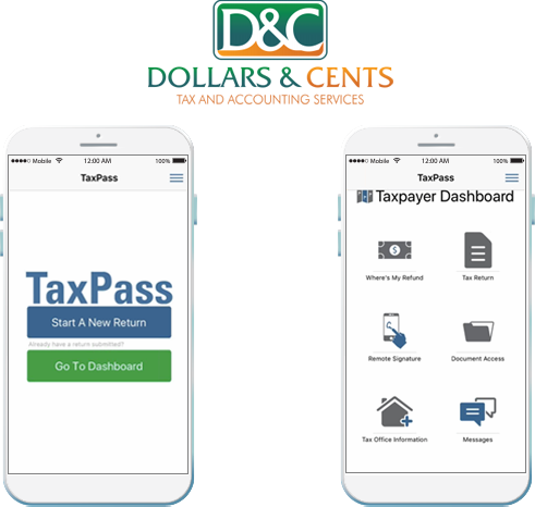 Mobile App - Dollars & Cents Tax and Accounting Services LLC